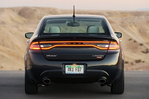 2013 Dodge Dart rear view