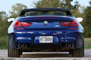 2012 BMW M6 Convertible rear view