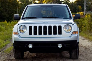 2012 Jeep Patriot front view