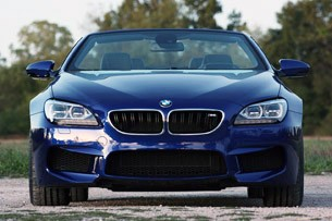 2012 BMW M6 Convertible front view