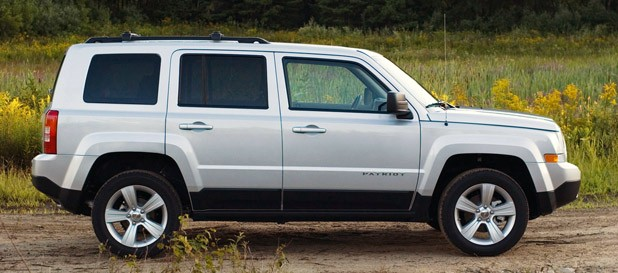2012 Jeep Patriot side view
