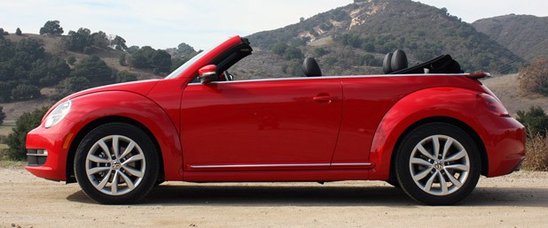 2013 Volkswagen Beetle TDI Convertible side view