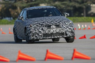 2014 Lexus IS Prototype driving
