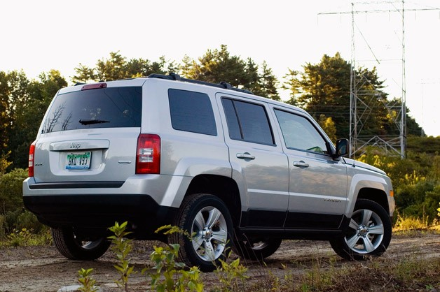 2012 Jeep Patriot rear 3/4 view