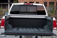 2012 Nissan Titan bed