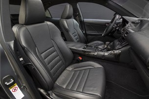 2014 Lexus IS Prototype front seats