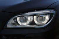 2013 BMW 750Li headlight