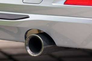 2013 BMW ActiveHybrid 3 exhaust tip