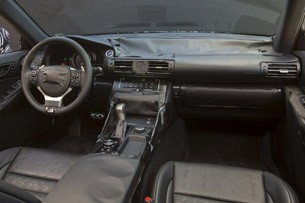 2014 Lexus IS Prototype interior