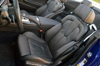 2012 BMW M6 Convertible front seats
