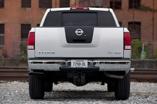 2012 Nissan Titan rear view