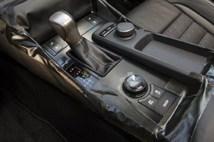 2014 Lexus IS Prototype center console
