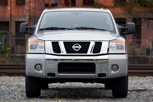 2012 Nissan Titan front view