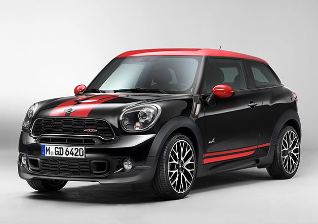 Mini John Cooper Works Paceman is the prohibited induce crossover coupe