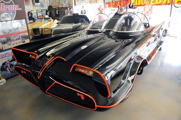 1966 Batmobile at Barris Kustoms