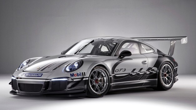 2013 Porsche 911 GT3 Cup - front three-quarter studio shot