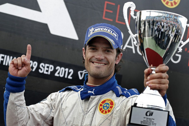 Sweden's Prince Carl Philip to competition for Volvo in STCC