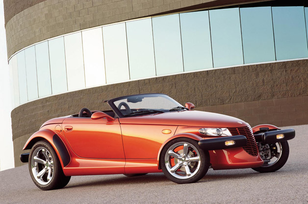 Plymouth Prowler - front three-quarter view