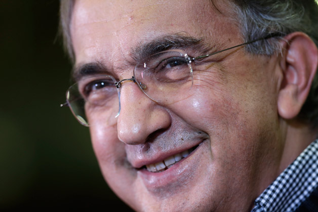 Fiat boss Sergio Marchionne