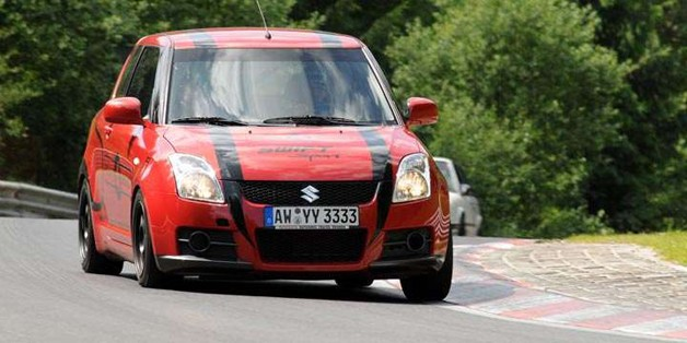 It's the tough hit hold up for the Nürburgring let car