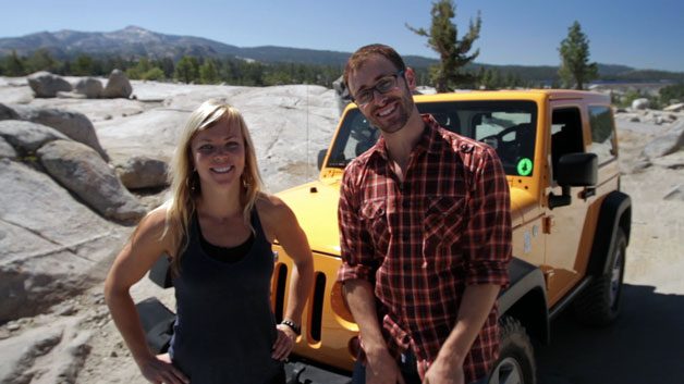 Jessi and Patrick of The List drive the Rubicon Trail