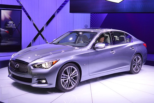 2014 infiniti q50 debuts g replacing design new hybrid model. Black Bedroom Furniture Sets. Home Design Ideas