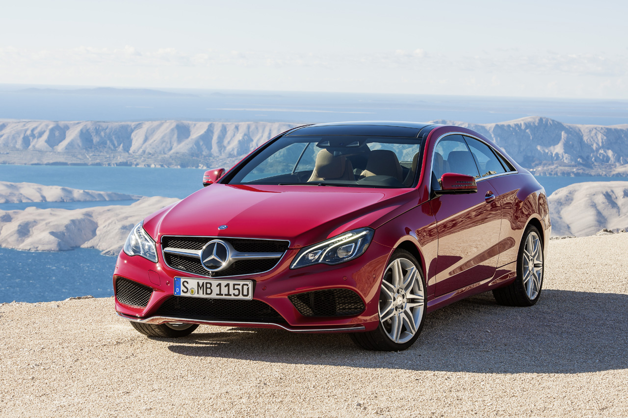 Mercedes benz reveals freshened 2014 e class coupe and for 2014 mercedes benz a class