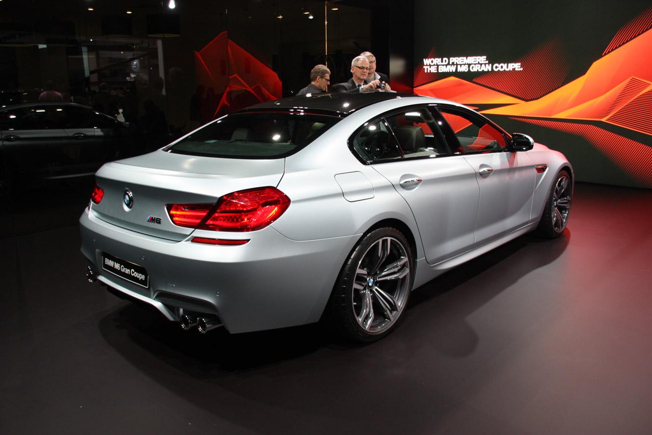 2014 bmw m6 gran coupe detroit 2013 photo gallery autoblog. Black Bedroom Furniture Sets. Home Design Ideas