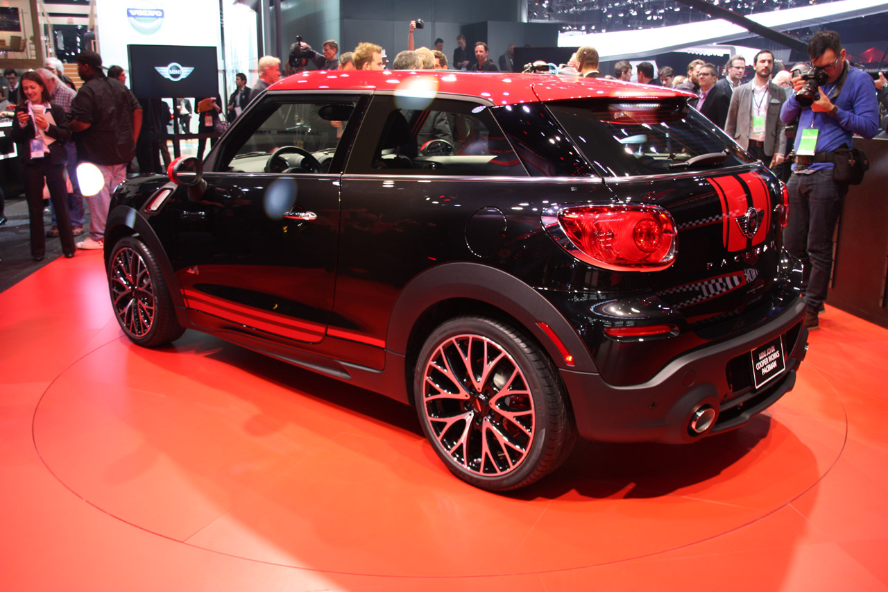 2014 mini john cooper works paceman detroit 2013 photo gallery autoblog. Black Bedroom Furniture Sets. Home Design Ideas