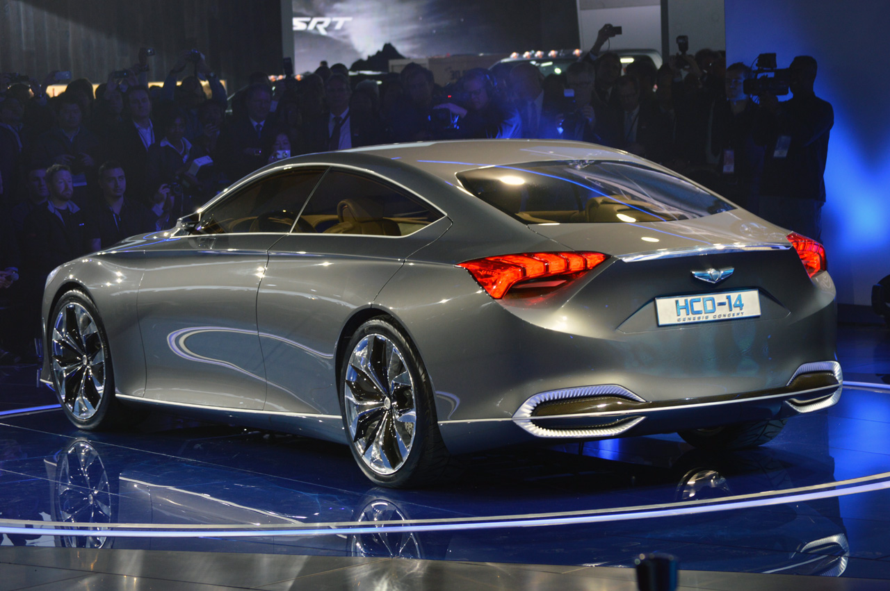 Hyundai Hcd 14 Concept Detroit 2013 Photo Gallery Autoblog