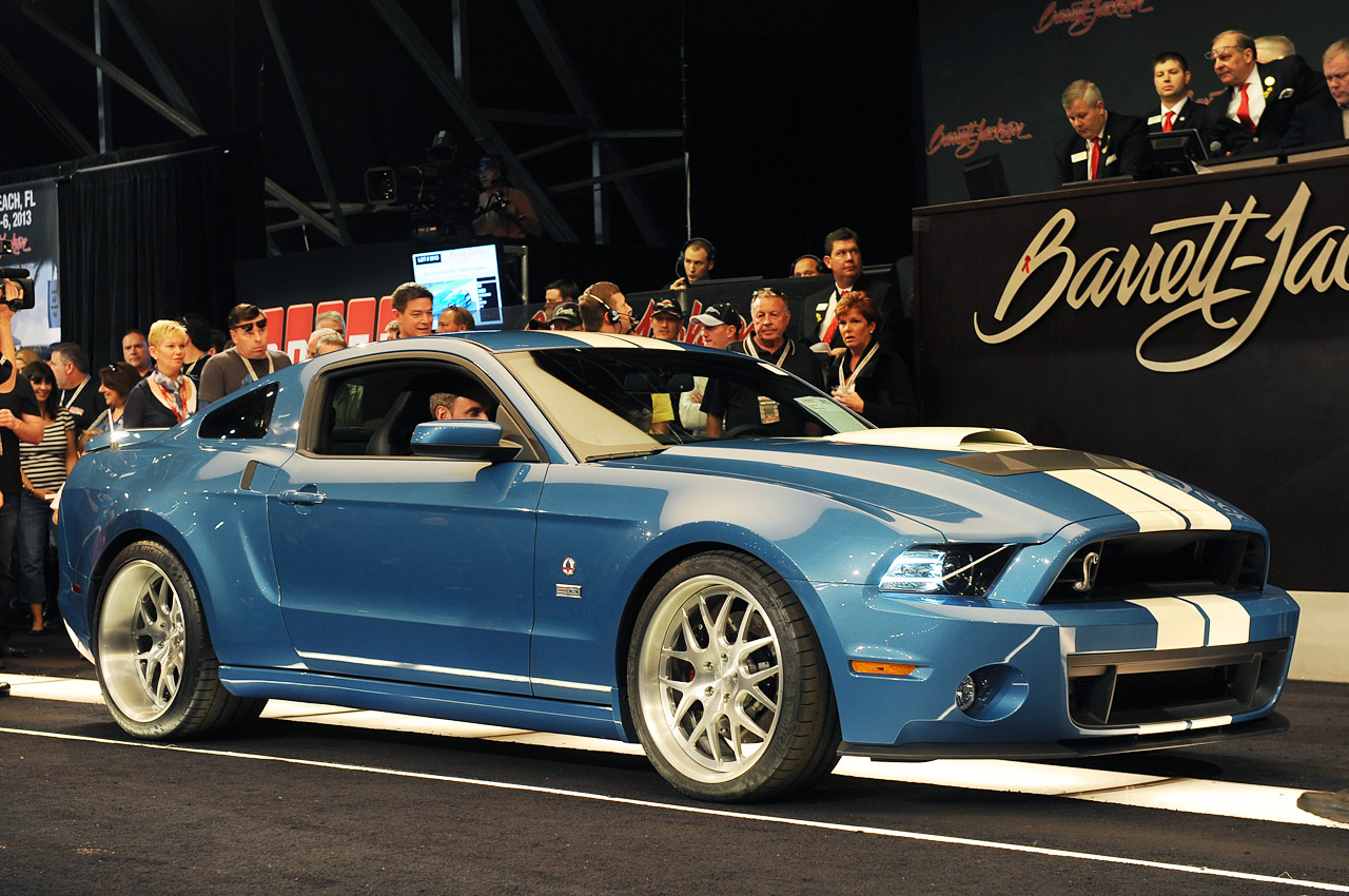 Oneoff 2013 Shelby GT500 Cobra raises 200k for charity at