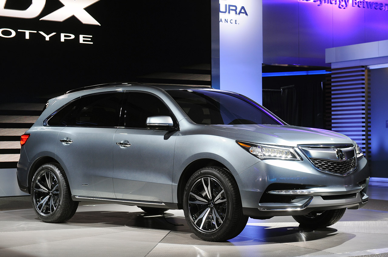 2019 Rdx Redesign >> 2014 Acura MDX Prototype is exactly what we expected - Autoblog