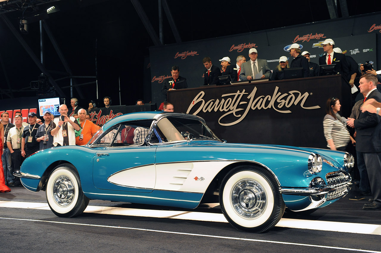Gm Ceo Dan Akerson S 1958 Chevrolet Corvette Sells At