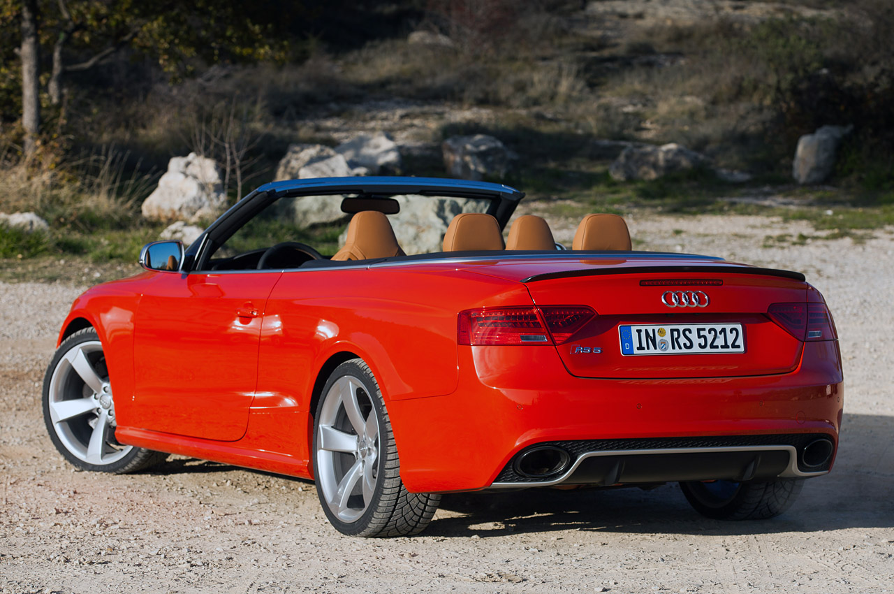 Audi rs5 convertible used 13
