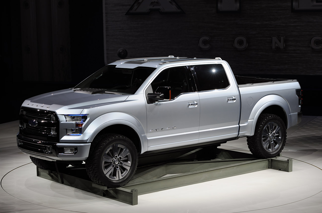 Ford Atlas Concept carries the weight of the F 150 on its