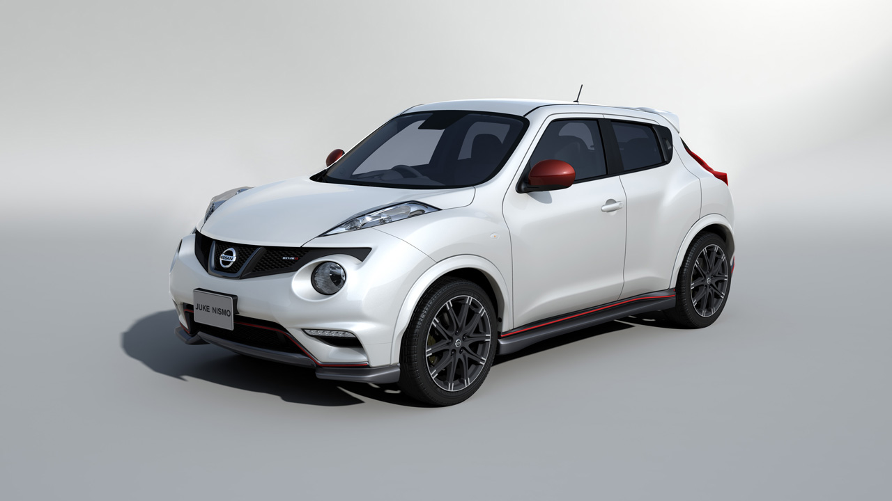 Nissan gets racy at tokyo auto salon w video autoblog for Nissan juke automatik