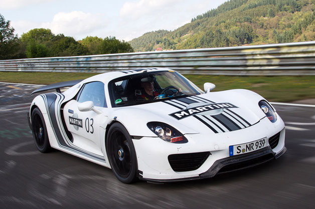 porsche 918 spyder officially priced from 845k weissach package 84k more. Black Bedroom Furniture Sets. Home Design Ideas