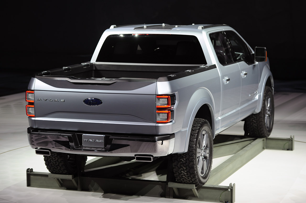 The pick up of the future the new 2014 ford atlas