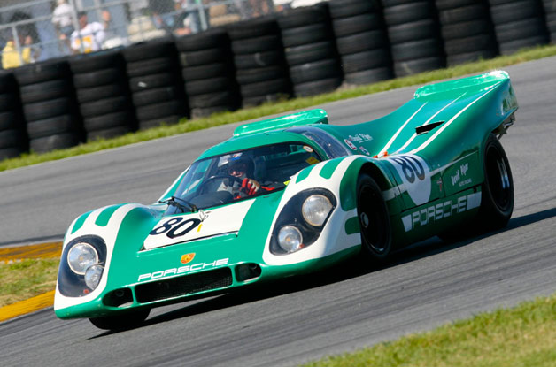 1970 Porsche 917K of David Piper on track at Rennsport Reunion