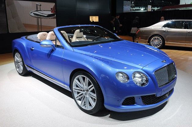 Gallery 2014 Bentley Continental GT Speed Convertible: Detroit 2013