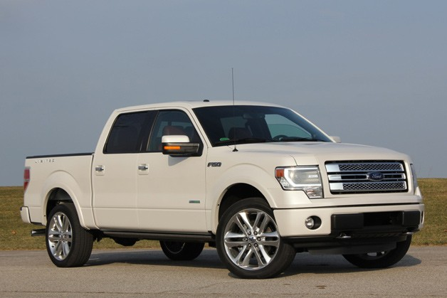 2013 Ford F-150 Limited - front three-quarter view