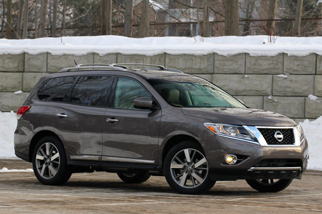 This ain't your daddy's Pathfinder . And that's exactly why we're