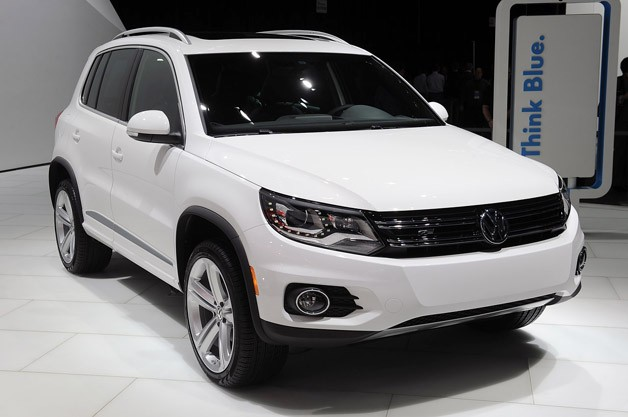 Volkswagen Tiguan and Touareg take the R-Line