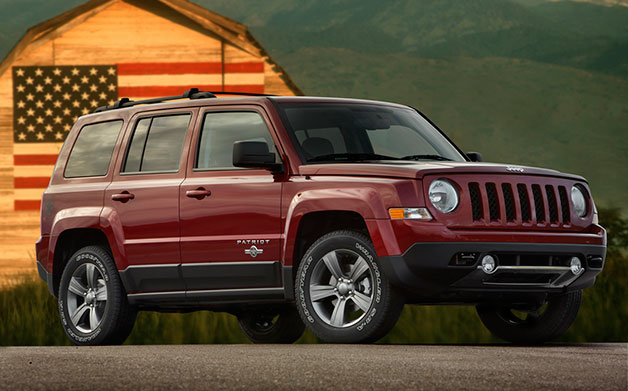 2013 Jeep Patriot - front three-quarter view
