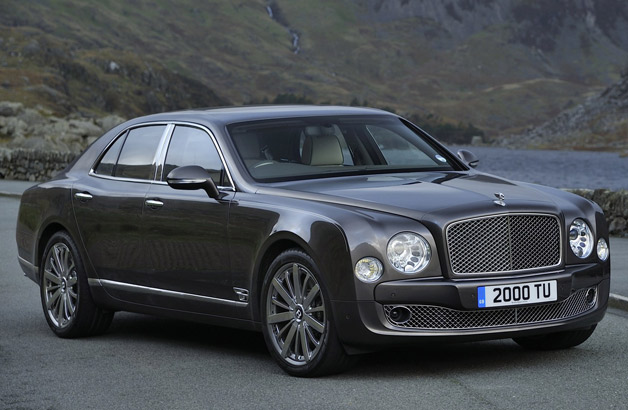 2014 Bentley Mulsanne - front three-quarter view
