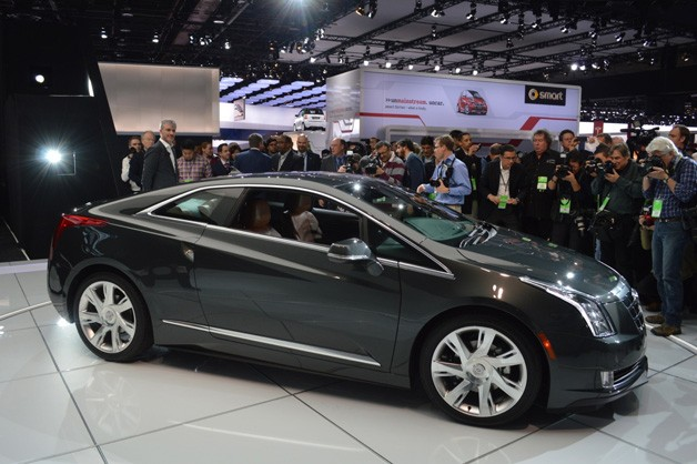 2014 Cadillac ELR wears the sexy fit with Volt underpants