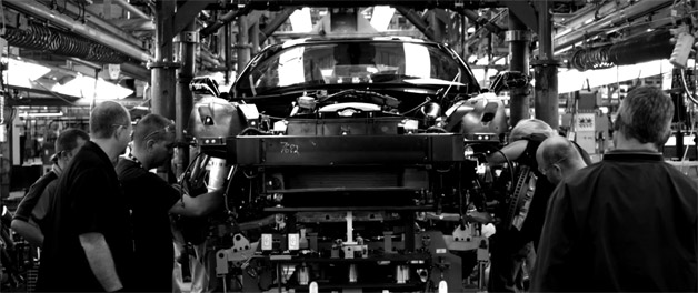 2014 Chevrolet Corvette Assembly Line