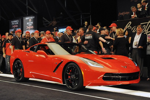 First Production 2014 Chevrolet Corvette Stingray