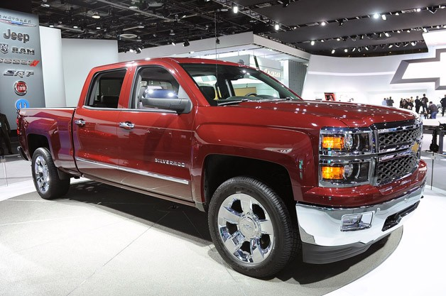 2014 Chevrolet Silverado LTZ - front three-quarter view