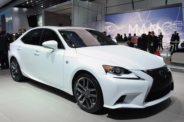 2014 Lexus IS brings boldest design yet to entry-level luxury